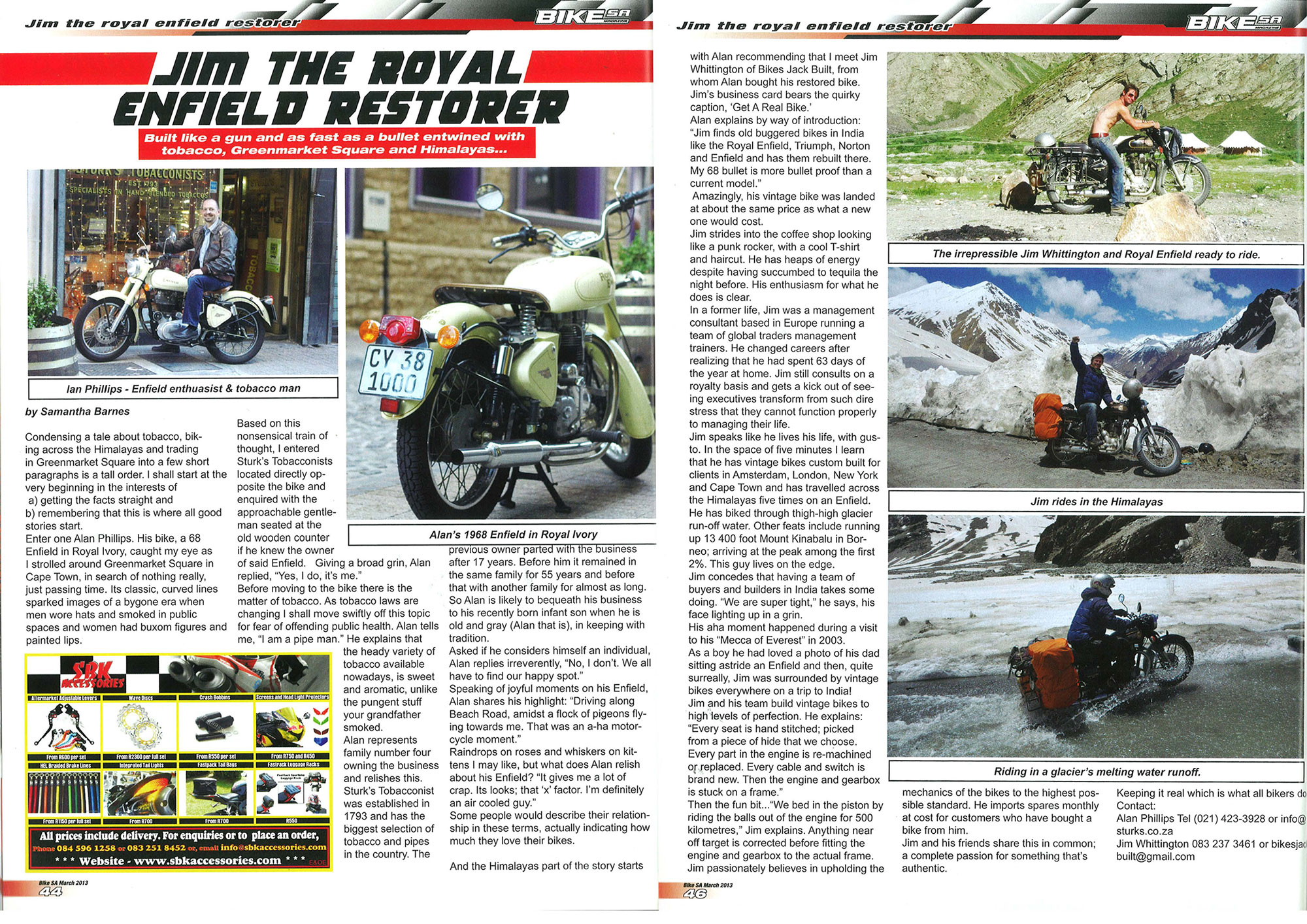 Bike SA Article