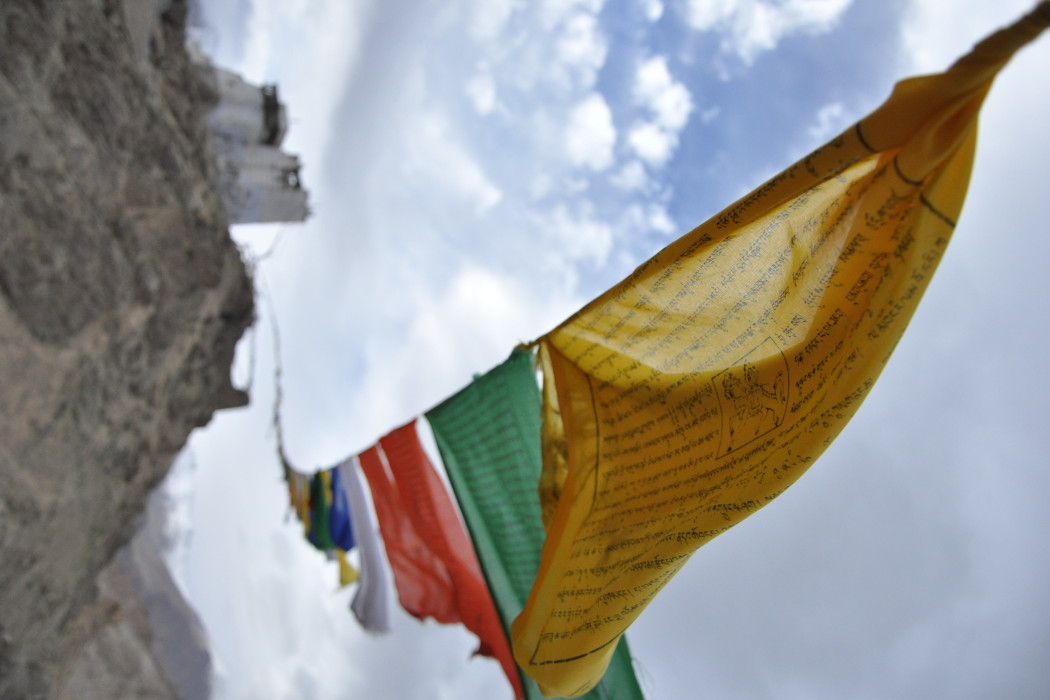 Prayer flags Leh
